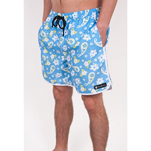 7405efd398e Country Clubbers Paisley Swim Trunks in Blue hot sale 2017 - asisc.ir