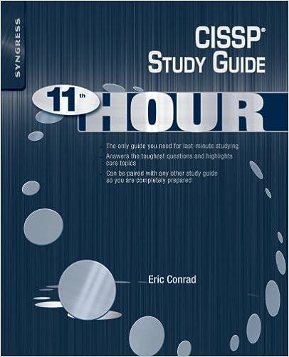 Amazon.com: Eleventh Hour CISSP: Study Guide (9781597495660): Eric ...