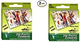 Pioneer Photo Corners Self Adhesive, Clear, 250-Pack (2 pack)