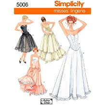 Simplicity Sewing Pattern 5006 Misses Costumes, RR (14-16-18-20)