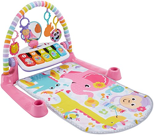 Fisher-Price Deluxe Kick & Play Piano Gym, Pink (Toys For Girls Price Fisher)