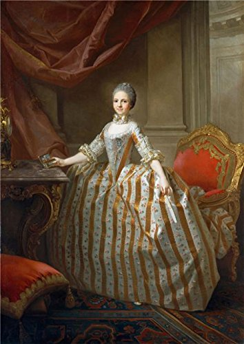 Queen Of Denial Costume ('Laurent Pecheux-Maria Luisa Of Parma ,Later Queen Of Spain,1765' Oil Painting, 20x28 Inch / 51x72 Cm ,printed On High Quality Polyster Canvas ,this Best Price Art Decorative Canvas Prints Is Perfectly Suitalbe For Wall Art Decor And Home Decor And Gifts)
