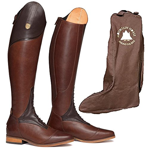 Marrone Stivali Brown Mountain Horse Equitazione Da Donna vSCwFxq