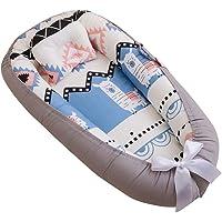 Eaarliyam Baby Recliner Pod Portable Detachable Breathable Comfortable Baby Cushion Pod with Hidden Zipper Pillow…