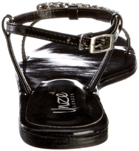 Sandali Nero Sandals Schwarz Unze Evening donna L18376w aHqgw