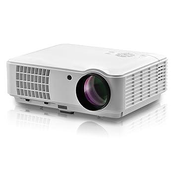 Docooler RD-804 Proyector LED 2500 lúmenes 1080P Máquina de ...