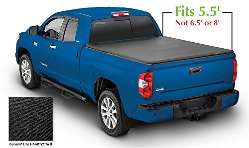 (Lund 958120 Genesis Elite Tri-Fold Truck Bed Tonneau Cover for 2007-2018 Toyota Tundra | Fits 5.5' Bed)