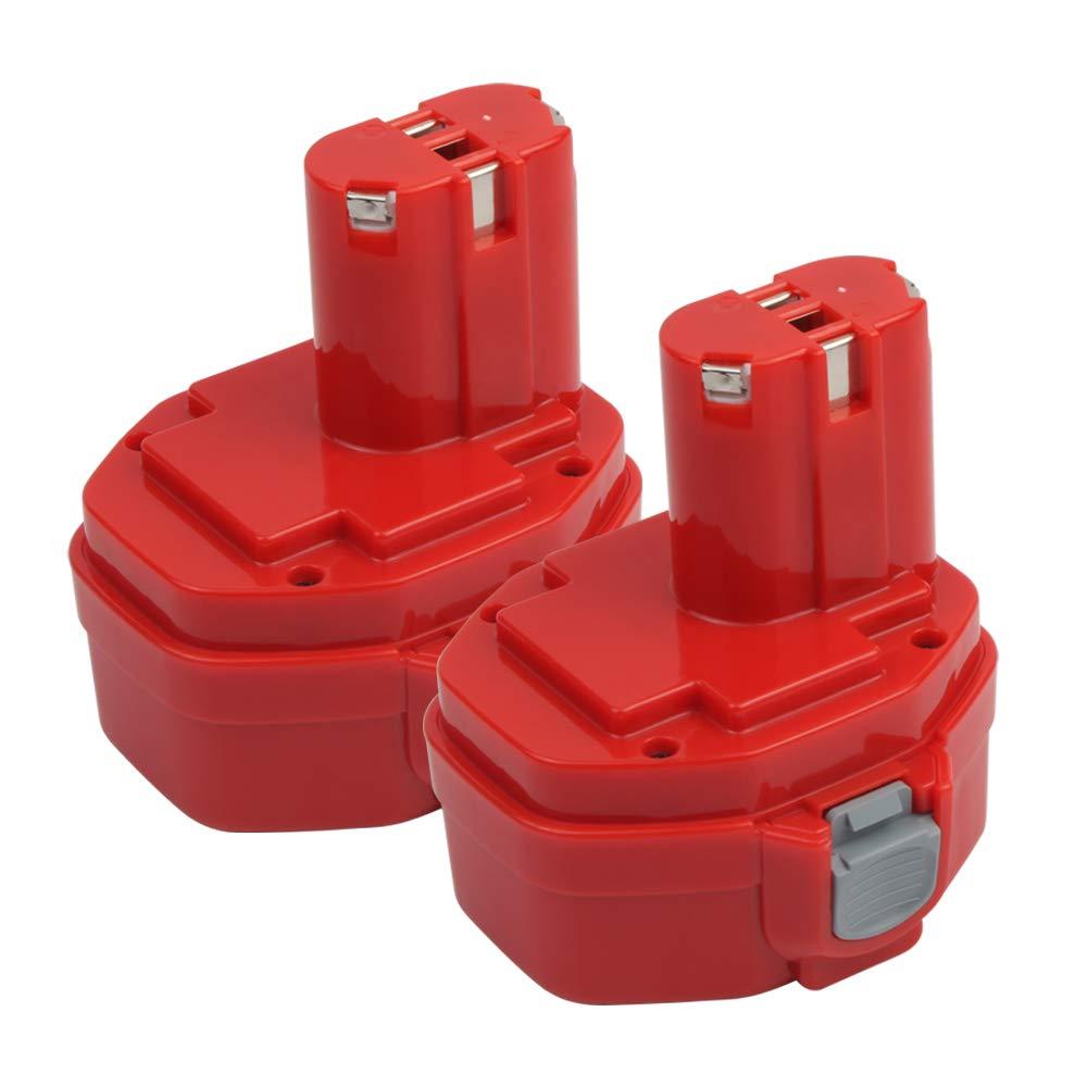 Batteria di ricambio per utensili elettrici Paslode 404717 Makita BL1830, nero