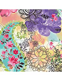 Access Abbott Collection Luncheon Floral Mix Napkins, Multicolor opportunity