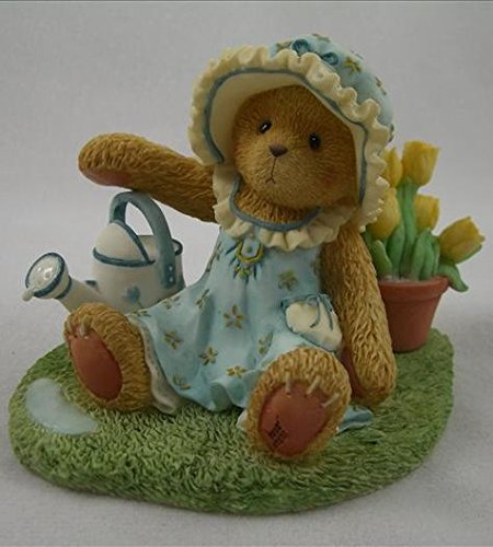 Cherished Teddies Tatum..... Tend To Your Heart And Soul - Love Will Make Them Grow - Figurine Bear Cherished Teddies