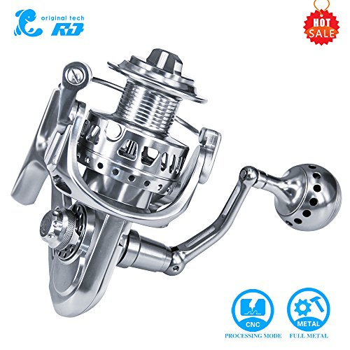 Fishing Reel RG 6000 Size CNC Full Metal Fishing Vessel Carbon Cloth Brakes Stainless Steel Bearings 11 + 1BB Boat Reels Throwing Sea Fishing Round