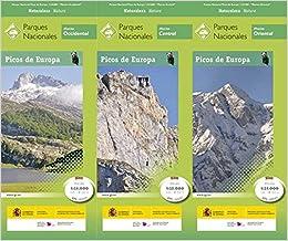 P.n. Picos De Europa. 3 Mapas. Escala 1:25.000. Ign/cnig por Vv.aa. epub