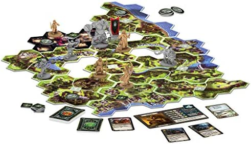 Fantasy Flight Games- Viajes por la Tierra Media, Color (JME01ES ...