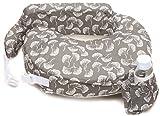 Zenoff Products My Brest Friend Nursing Pillow, Flowing Fans, Grey, White by Zenoff Products