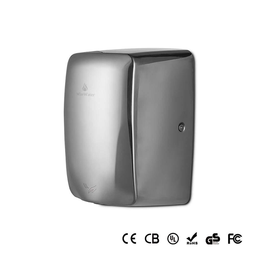 AB AK2803 Commercial Electrical Hand Dryer 1350W/110V Plug-in for Bathrooms (AK2803B)