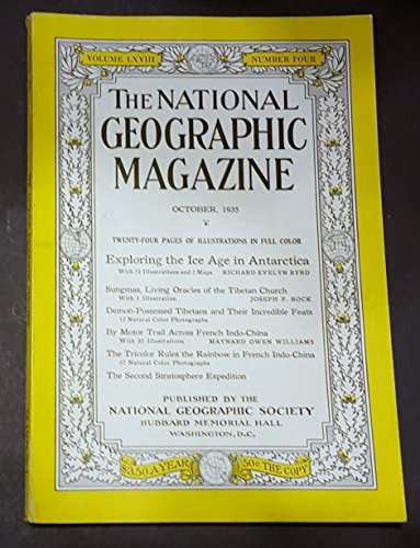 The National Geographic Magazine, October 1935 (Volume LXVIII)