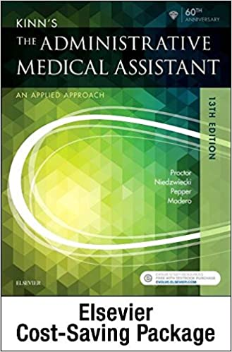 Kinns the administrative medical assistant text and study guide kinns the administrative medical assistant text and study guide package an applied learning approach 13th edition fandeluxe Images