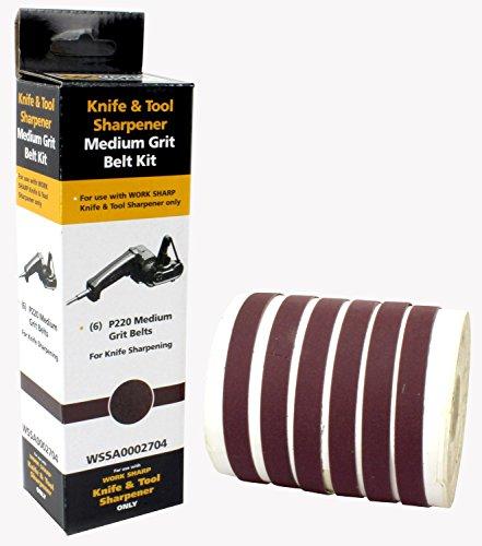 Drill Doctor - Work Sharp WSSA0002704 220 Grit Belt Kit ()