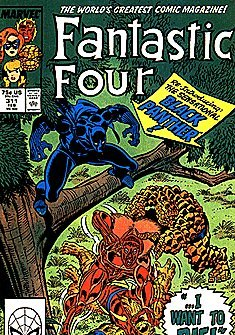 Fantastic Four #311 : I Want to Die (Marvel Comics)