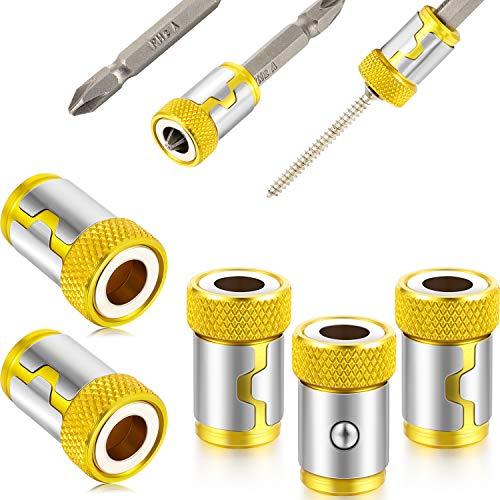 2pcs Magnetic Ring DIY Strong Magnetizer Screwlock Sleeve Screwdriver Bits Home