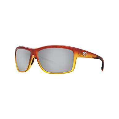 7247e99350 Amazon.com  Costa Mag Bay Sunglasses Matte Sunset Fade   Silver ...