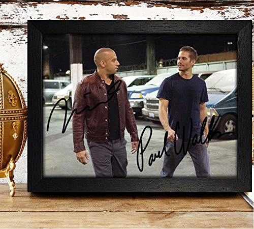fast and furious signed picture - 4