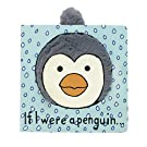 Jellycat Board Books, If I Were a Penguin - 6 inches