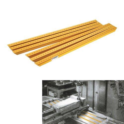 Vertex, Aluminum Slot Cover for Milling Table, Slot 16 mm, VST-16, 1018-001
