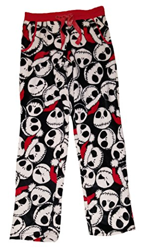 Nightmare Before Christmas Jack Skellington Fleece Sleep Pants - (Jack Skellington Clothing)