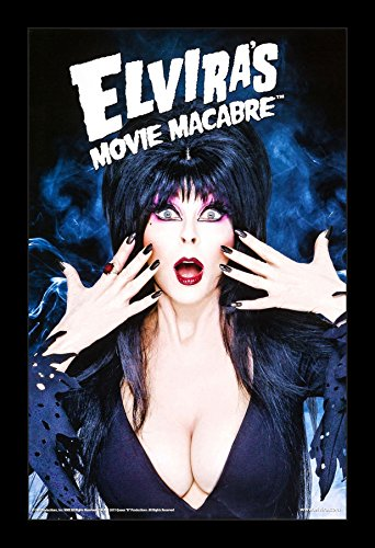 Elvira's Movie Macabre Framed Poster