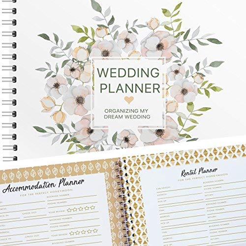 Wedding Planner and Organizer - Organizing My Dream Wedding Edition Includes Checklists and Essentials Tools to Plan Everything Perfectly As You and Your Fiance Head Up to Tie The Knot (Best Wedding Planner Binder)