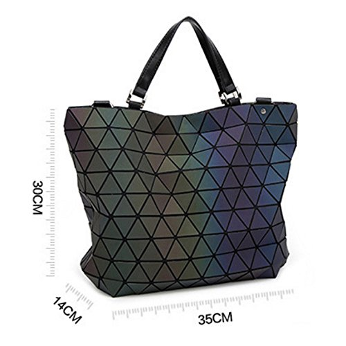 Women's Fashion Handbag Bag Shoulder Geometric A 7wZ7zrRx