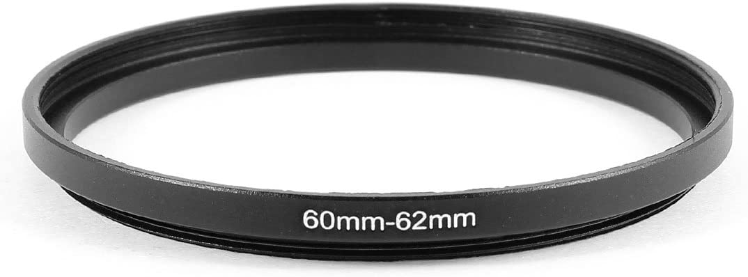 uxcell 60mm to 62mm Camera Filter Lens 60mm-62mm Step Up Ring Adapter