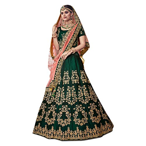 Bridal Wedding Designer Bollywood Women Lehenga Choli Dupatta Ceremony Chaniya Choli Collection 734 14 -