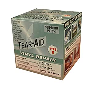 Amazon Com Tear Aid Vinyl Repair Patch Kit Sports Amp Outdoors