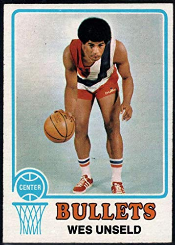 (Basketball NBA 1973-74 Topps #176 Wes Unseld Bullets)