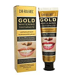 Ofanyia Gold Whitening Toothpaste, Xtra Whitening, Remove Stain & Fresh Breath, Restores Whiteness & Strengthens The Teeth