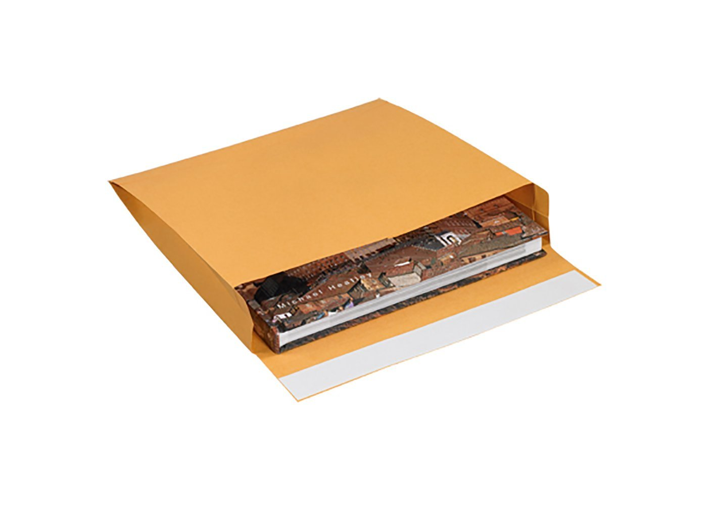 RetailSource E121002ES10 Expandable Self Seal Envelopes 12 x 10 x 2 Brown Pack of 10