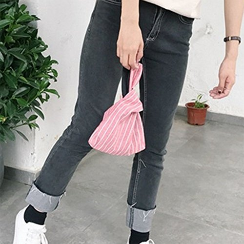 Small Bag Wrist Handbag Card Holder Clutch Bag Sacks Foldable Carry Storage Pouch Credit Purse Women Rucksacks Money Wallet Red Running LAAT Tote xUETw5zE