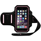BODY GLOVE iPhone 6/6s Endurance Armband Black/Pink Retail Packaging