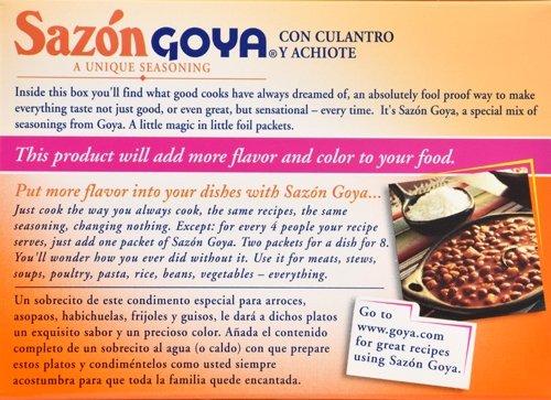 Goya Foods Sazon Coriander & Annatto, 1.41 Ounce (Pack of 36) by Goya (Image #6)