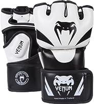 Venum 0681-L/XL Attack MMA Gloves, Black/White