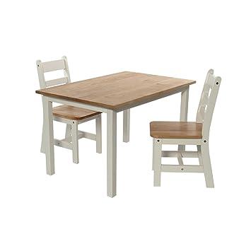 Momo For Kids Kinder Tischgruppe Brandon Xl 3 Tlg Weißnatur