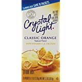 Crystal Light On The Go Classic Orange, 10-Count Boxes (Pack of 6)