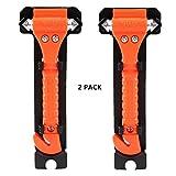 Demarkt Emergency Rescue Hammer, Auto Safety Escape Hammer, Windows Punch Break & Seatbelt Cutter Pack of 2