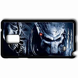 taoyix diy Personalized Samsung Note 4 Cell phone Case/Cover Skin Alien predator monster head face terrible Movies Black