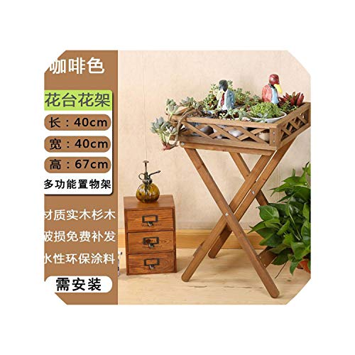 Solid Wood Flower Stand Multi Layer Floor Flower Pot Shelf Meaty Bonsai Balcony Living Room Room Built in Material Stand Flower,VIP 1 (Best Bamboo Flooring Brand Australia)