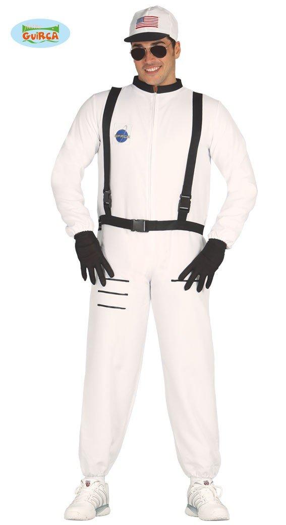 Astronautenkostüm für Herren Astronaut Kostüm Herrenkostüm Raumfahrer Karneval