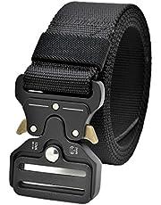 GRULLIN Taktische Pflicht Rigger Gürtel, MOLLE militärischen Schnellverschluss Schnalle Taillenband, Nylon Web EDC Waistbelt