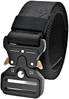 Tactical Duty Rigger Belt, MOLLE Military Quick Release Nylon Waistband